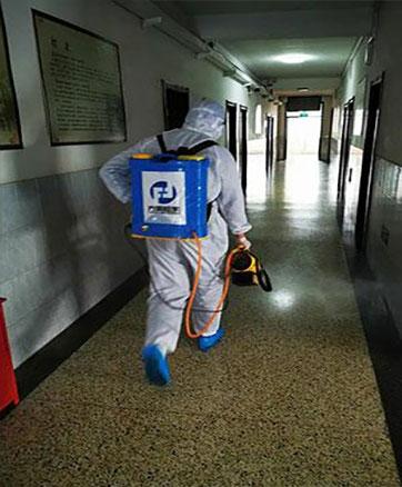 疫情无情公益有爱--山东方源检测技术有限公司支援历下教育系统环境消杀公益行动